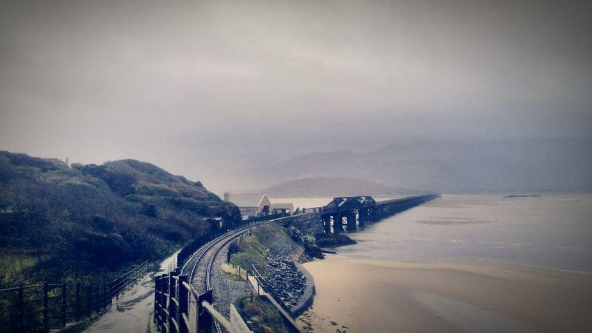 Bridge Railway Rail Bridge View River Collection River River View By The River Porthmadog North Wales Coast Of Wales Estuary Estuary View Fine Art Photography