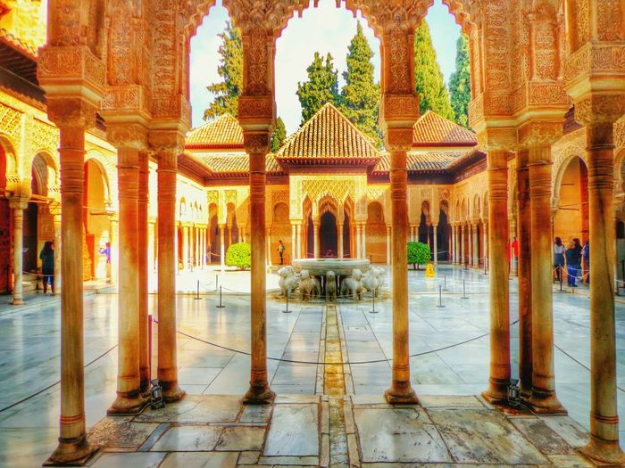 España🇪🇸 SPAIN Andalucía Mobileart Streetphotography Tourism Art Photography Photo Photo Of The Day Photoart Color Photography Colours Granada Alhambra History Patiodelosleones
