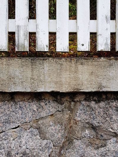 Pattern of fence above stonewall Fence Stone Wall Pattern White Texture