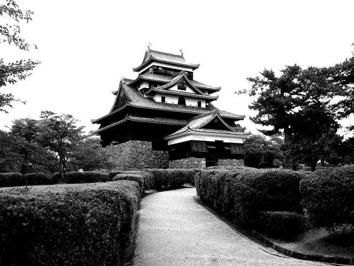 Architecture Taking Photos Japanese  Historical Building Castle Traveling Monochrome