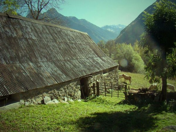 Landscape Mountains Pyrenees France