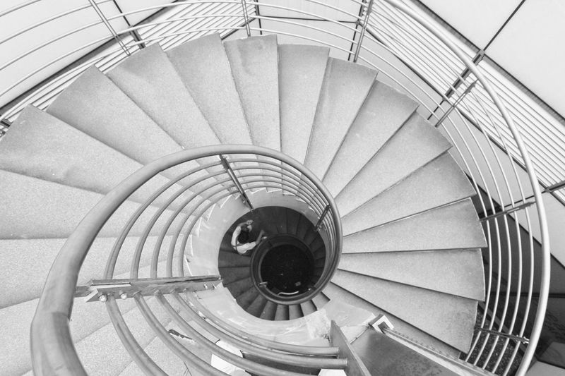 Life Stairs The Graphic City Abstrak Arsitektur Blackwhitephotography Bw_collection Spiral