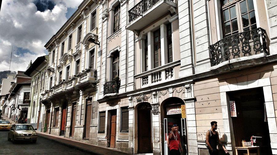 Architecture Building Exterior Built Structure City Travel Destinations Men Day Adult People Quito Quito Ecuador Ecuador