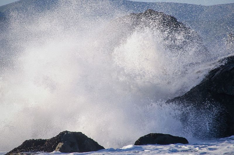 Incoming! Beautiful crashing waves at Lands End. Ocean EyeEm Nature Lover Nature Light And Shadow Beach California