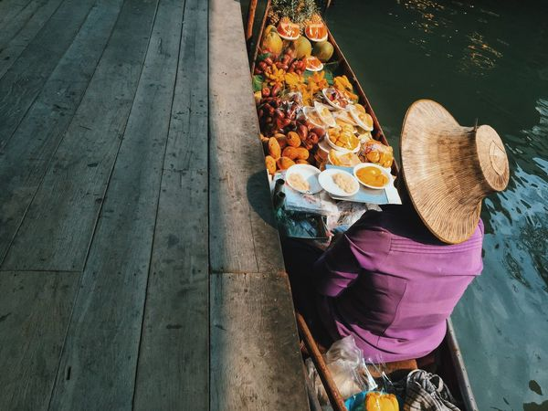 Spotted In Thailand Thailand Travel Traveler ASIA River Market Floating Market Food The Street Photographer - 2016 EyeEm Awards The Portraitist - 2016 EyeEm Awards Feel The Journey Original Experiences On The Way Let's Go. Together.