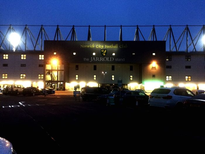 Day 16 of my 365project A trip to Norwich City Ground Carrow Road