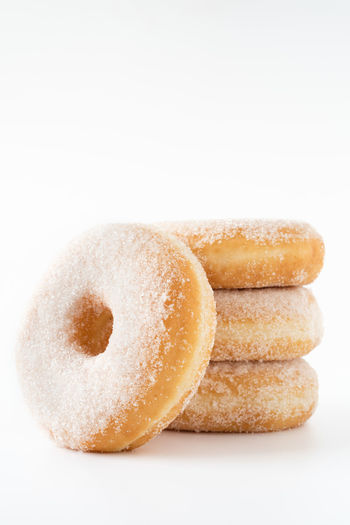 donuts stacked on white background with copy space  daylight food photography Studio Shot White Background Food Donut Indoors  Food And Drink Close-up Sweet Food Baked Cut Out No People Freshness Sweet Copy Space Still Life Stack Group Of Objects Sugar Snack Small Group Of Objects Food Photography Foodphotography Foodporn Nikonphotographer