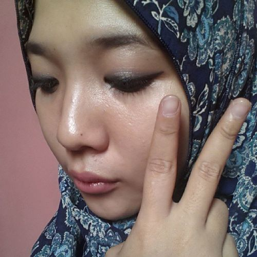 Noeffect Onlyfriday Normal Original hijab blue peace missu etudehouse revlon