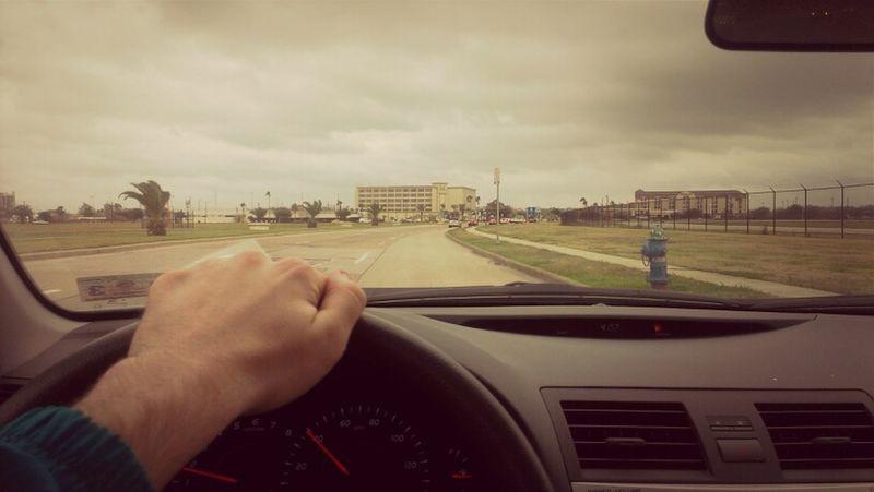 back in Houston
