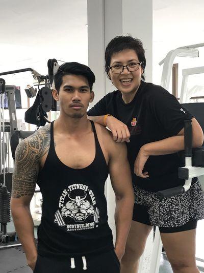 เทรนเนอร์พี่!! แซ่บพอป่ะ 😜🤣😂 เผ็ช อรรถรส My Trainer Weight Training  Fitness Training Fitness Time Fitness Model Personal Trainer