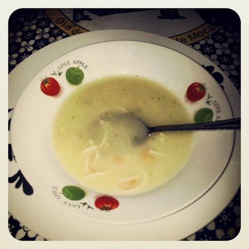 Sopa de legumes para ecuperar o fôlego... IRunMatola WMg