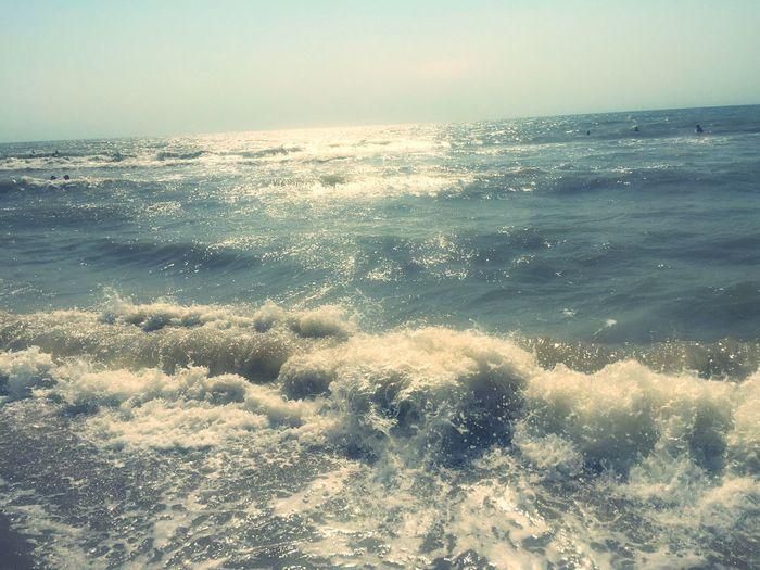 Big Waves SeaWater🌊 Beautiful Nature Black Sea Nice Atmosphere Sea Watercolour Sea Air Amazing Love It 🐬🌊💙
