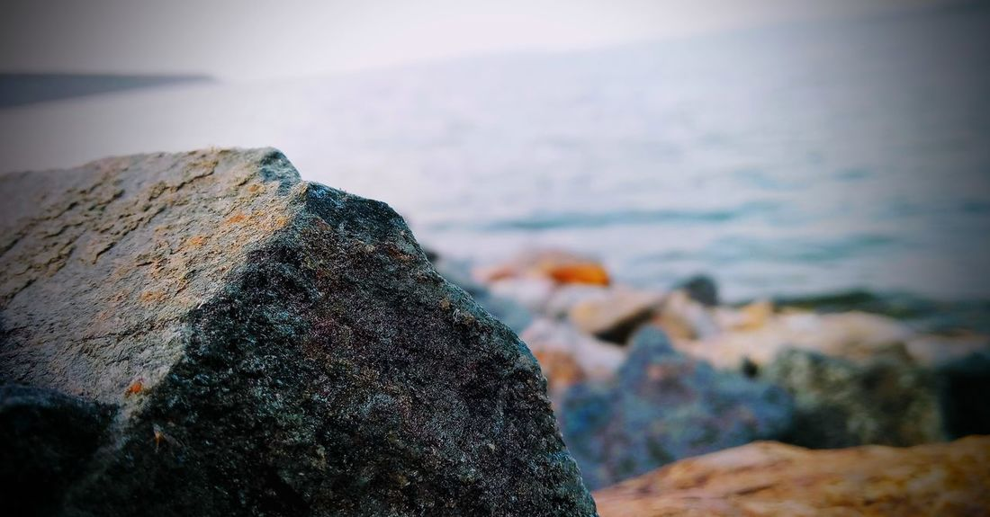 #S.K Koushik Photography........ Landscape view Sea Beach Water Rock - Object Horizon Over Water Nature Focus On Foreground