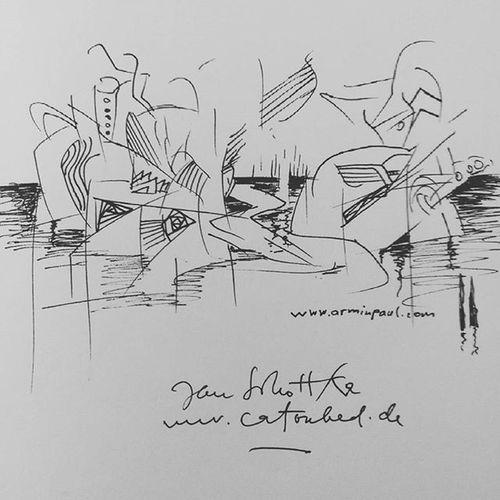 My Drawing in the guestbook of Galerie Bernet Bertram Structure Drawing Abstractors Surreal Surealdrawing Jansobotka Berlincharlottenburg Berlin