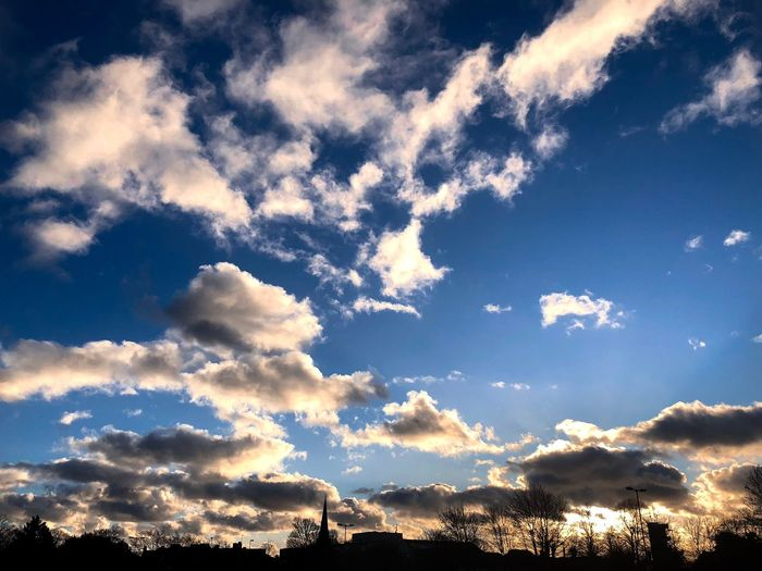 Late afternoon in Chichester Beauty In Nature Sky Nature Scenics Cloud - Sky Tranquility Low Angle View