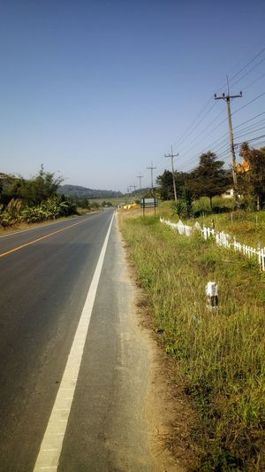 Grass Grassland Tree Sky Life Life Journey Journey Hill Silence Of Nature Nature Tree Road Clear Sky Sky Grass Empty Road Country Road Mountain Road White Line Countryside Roadways Long Dividing Line Asphalt Farmland Road Marking Agricultural Field