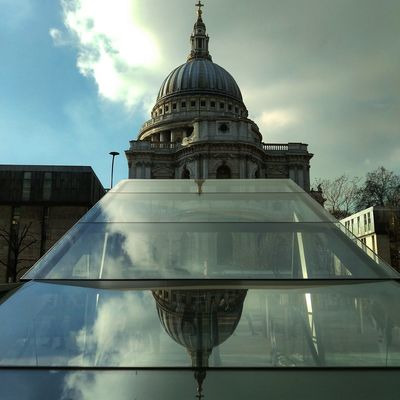 St Paul's Cathedral Architecture Building Building Exterior Built Structure City Cloud - Sky Day Dome Glass - Material Government Low Angle View Nature No People Outdoors Place Of Worship Religion Sky Spire  Spirituality Travel Travel Destinations