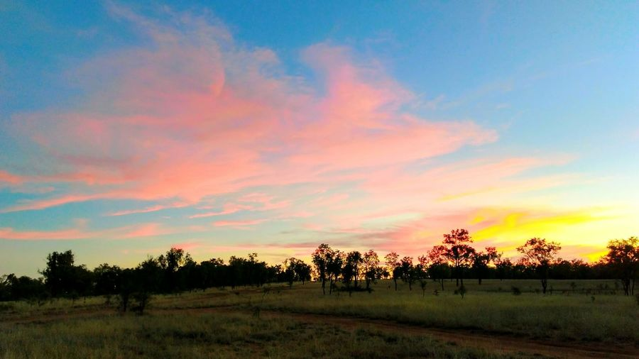 Natures Natural Beauty Show splash of colours Sunset no people Incredible Beauty tranqulity Outdoors outback Australia Outback Collection Breathing Space