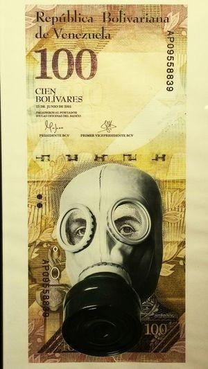 """Mascara Antigas"" Obra del Fotografo Ricardo Arispe. Caracas,venezuela Venezuelan Protest. Dictatorship Never Again"