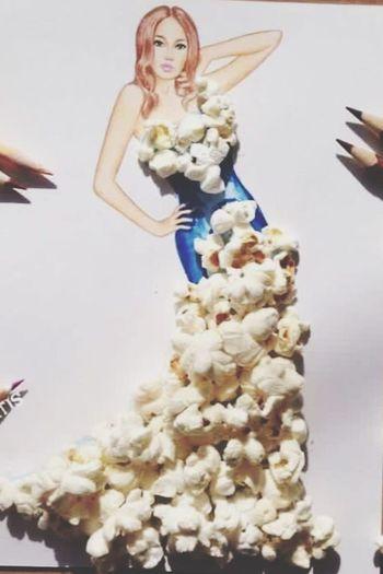 Popcorn Art.. First Eyeem Photo