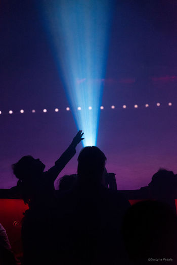 Audience Capture The Light Circus Event Excitement Human Hand Illuminated Leisure Activity Light Light And Shadow Night Real People Silhouette Stage Light Touch The Light Art Is Everywhere