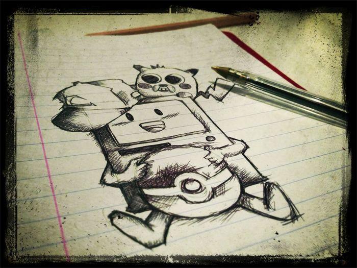 Jetlag Drawing