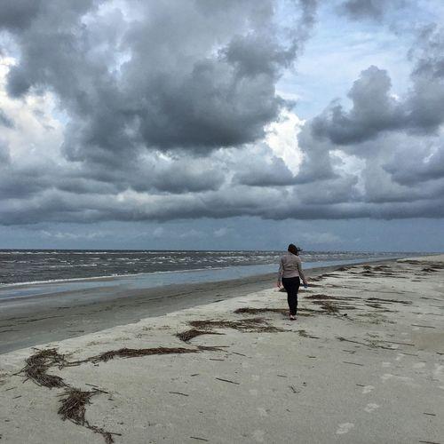 Beach walk -