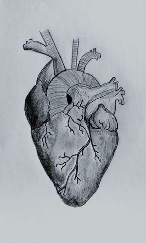 Human Heart Heart Beating Sad Grey Spirit Black & White Photography Drawing Pencilart My Draw ♥ Lonley Beautiful Sound Unhappy Love