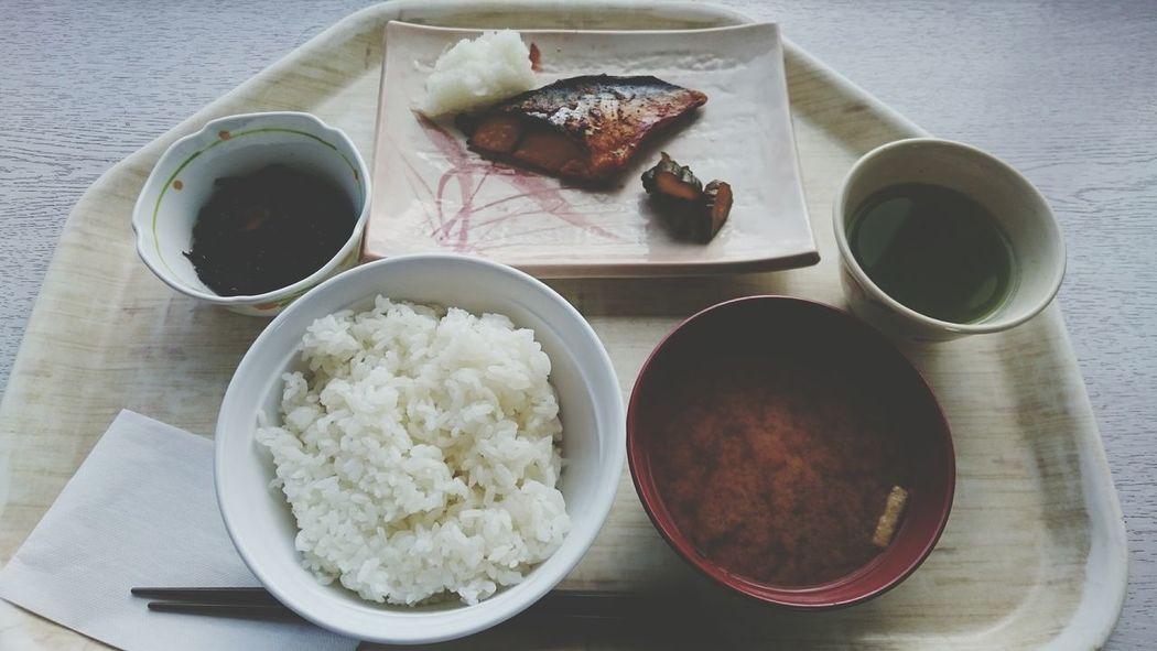 Food And Drink みそ汁付 焼き魚 飯