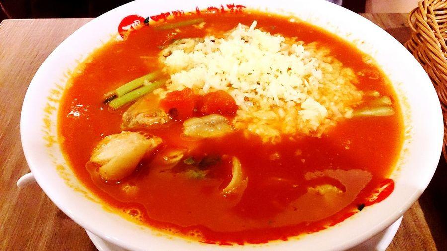 起司雞肉蕃茄拉麵 Noodles Food Delicious ♡ 太陽蕃茄拉麵 EyeEm Best Shots Dinner Time Enjoying Life Eating Relaxing