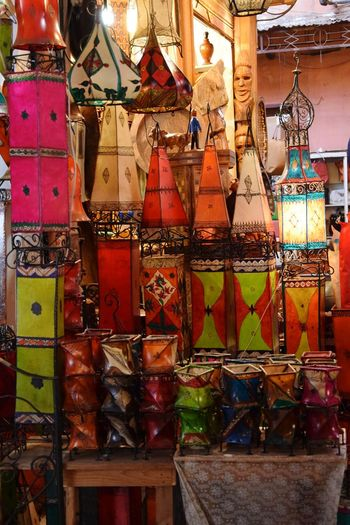 Multi Colored World's Bazaars Photography Accesories Metal - Material Glass - Material Decorations Lamps Handmade Choice Market Retail  Variation For Sale Display
