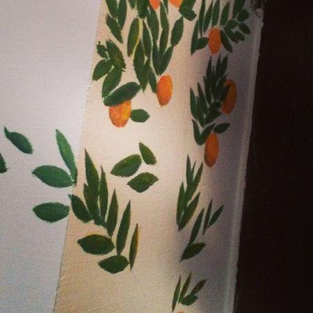А мы тут балуемся с @floret_di :D начало положено!) ремонт Dibandos бандаДи апельсиновое дерево мечта