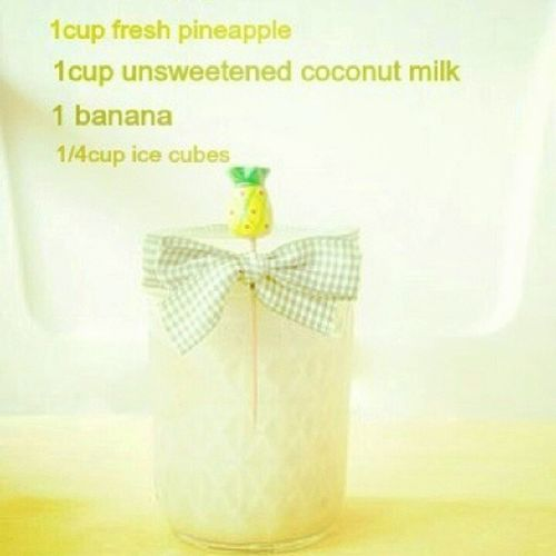 Trying this one out tomorrow! Smoothie Recipe