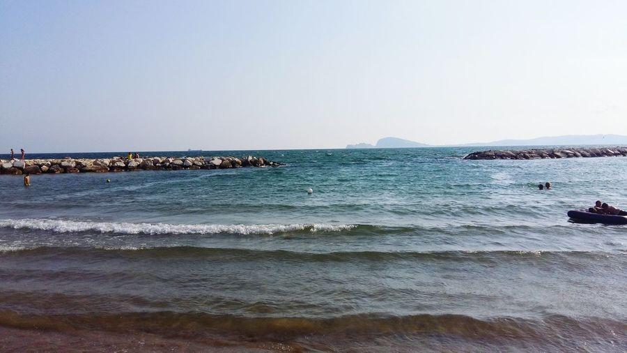 Formia beach