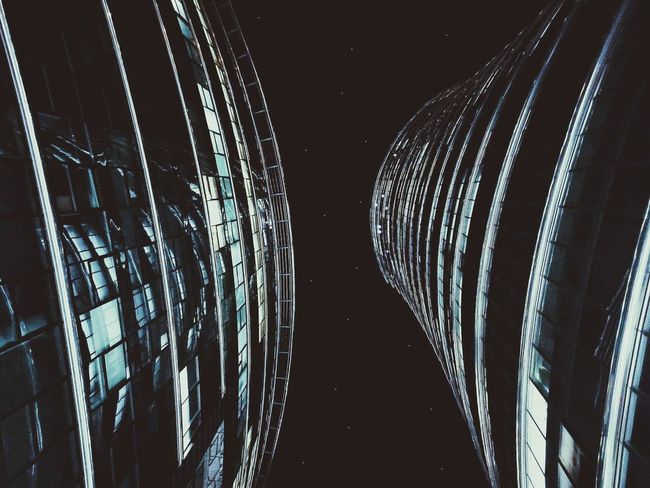 Night Illuminated No People Black Background Indoors  Close-up Sky Buildings Building Architecture
