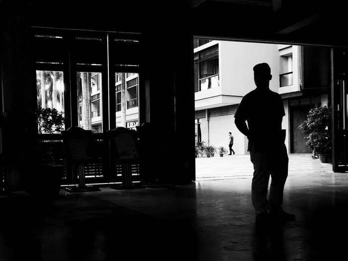 Silhouette One Man Only Only Men Adults Only Rear View One Person Full Length People Men Day Indoors  Politics And Government Adult