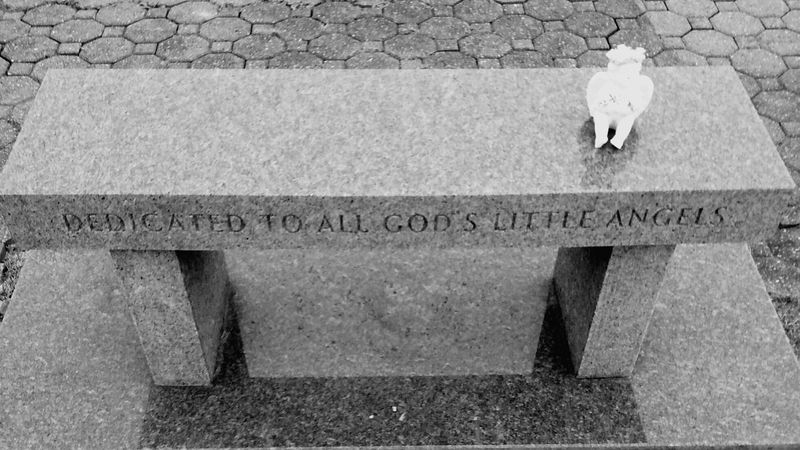 From My Point Of View Neverending Love Little Angels In Gods Arms Benches_Of_The_World_Unite Special Benches Benches Black And White Photography Eyeem Monochrome My Monochrome World Black And White Collection  Cemetary Beauty Cemetary Shots God Bless The Children