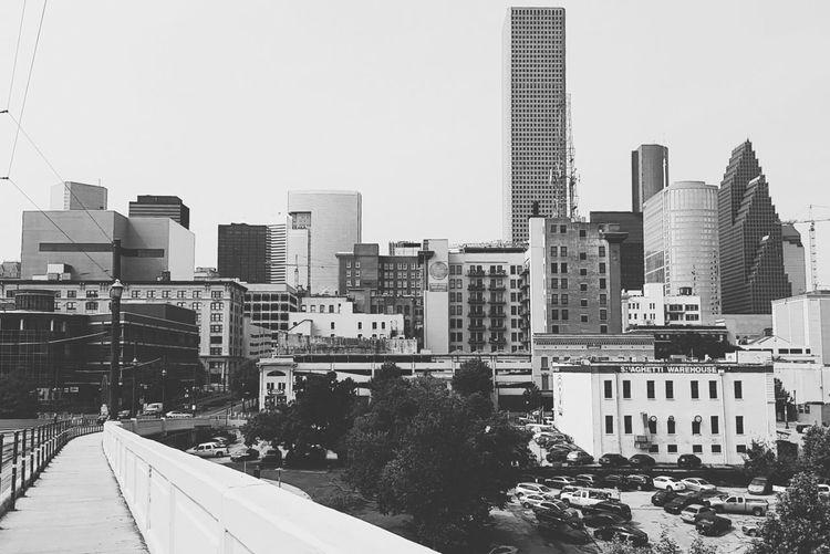 Houston Texas Downtown Houston Photography Texas Htx Houston Downtown Photooftheday Skyline City City Life Cityscapes Blackandwhite Blackandwhite Photography Black & White
