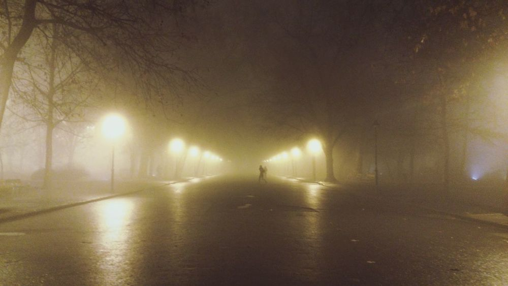 Foggy Night . Fog Foggy Night Foggy Day Fog_collection Foggy Weather Fog City Night Lights Park City Szegedi Szegedforever♥ Szegedcity Szeged Hungary Szeged Life In Szeged Eyeem Szeged Szegednight Thesecretspaces