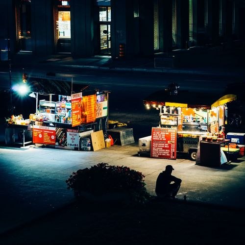 Hot Dog Stand-02 Toronto Canada Hot Dog Stand Everybodystreet Night Cityscape Light And Shadow Street Photography Downtown Toronto Streetphotography