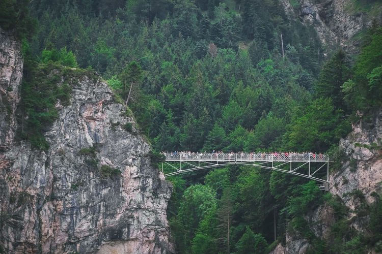 Marienbrucke or bridge of queen mary spanning the spectacular pollat gorge.