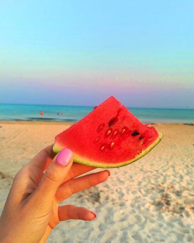 Summer sea watermelon First Eyeem Photo