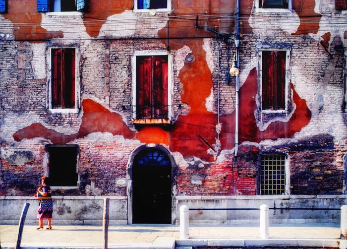 Venezia1979 Venezia Italia Red Architecture Built Structure Building Exterior Outdoors Day No People EyeEmNewHere The Architect - 2018 EyeEm Awards