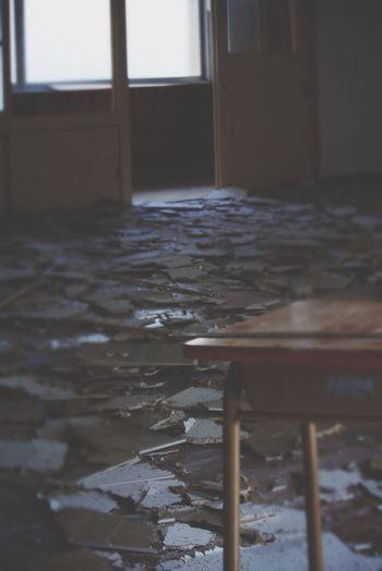 School Broken Desks Class Room Class Room Japan Kagoshima Kagoshima,japan First Eyeem Photo