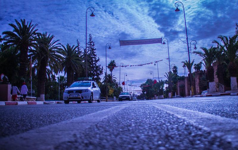 Morocco Taxi Arabic City Day Maroc Mode Of Transport Taroudant تارودانت