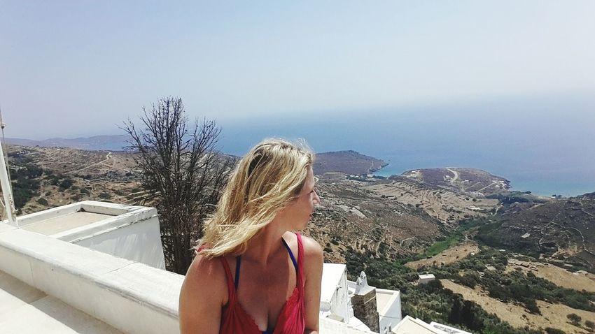 Tinos Greece Tinos Tinos Island Aigean Blue Cyclades Greece Sea And Sky Summer2015 Holiday Summertime sum
