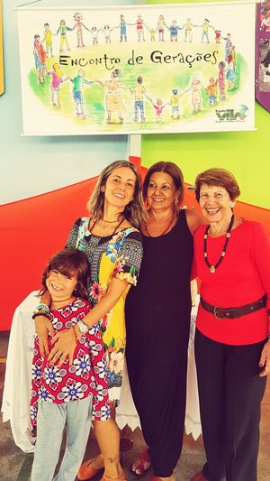 Women Around The World Four generations Child Females People Togetherness Happiness Women Around The World