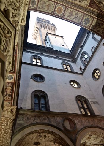 Interior Views Palazzo Vecchio Florence Florence Italy Piazzadellasignoria Cortile Comune 😍
