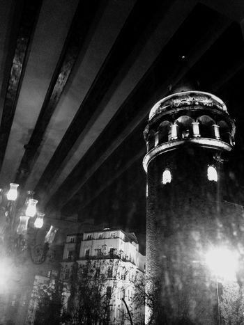 Darkness And Light Istanbul Galatakulesi
