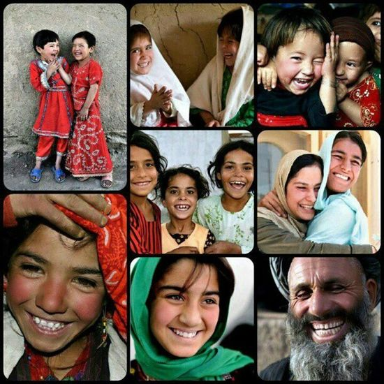 Let us always meet each other with smile, for the smile is the beginning of love & even peace begins with a smile :-) Afghankids